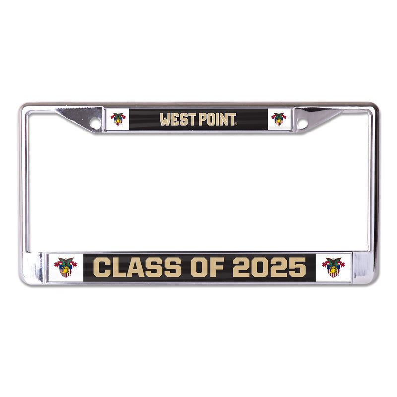 West Point Class of 2025 License Plate Frame