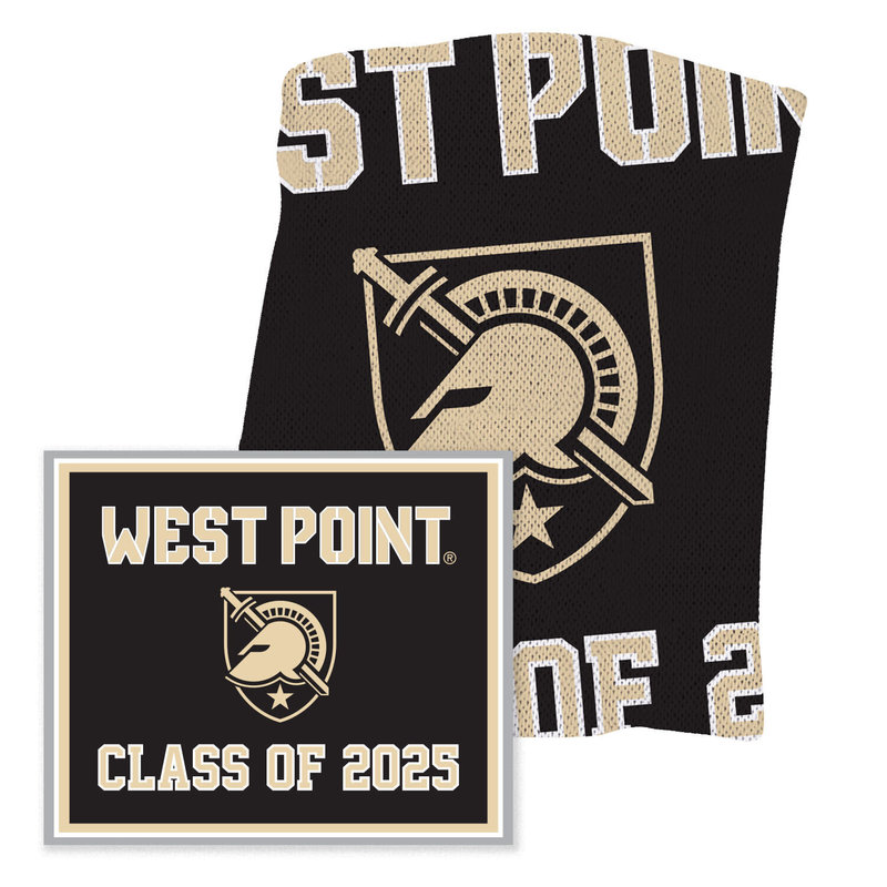 West Point Class of 2025 Knit Blanket