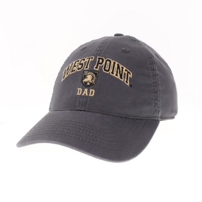 """West Point """"Dad"""" Baseball Cap with Shield"""