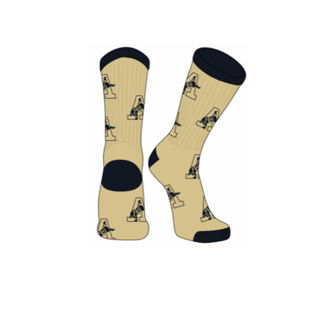 West Point Kicking Mule Socks