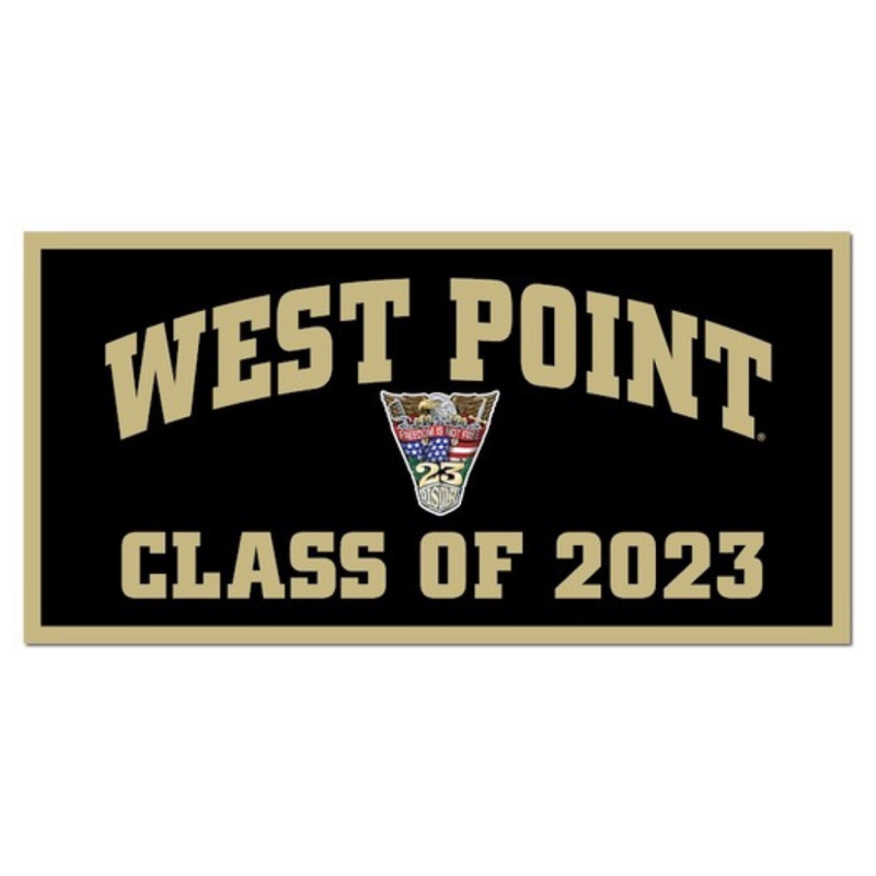 West Point Class of 2023 Banner (Class Specific Crest)