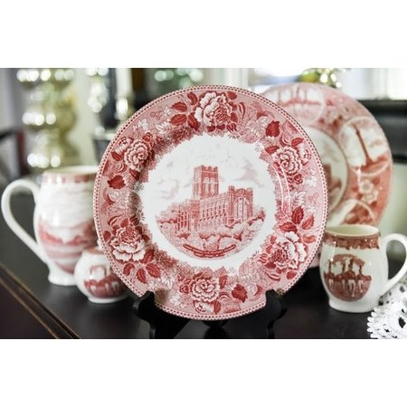 Cadet Chapel China Dinner Plate in Rose, 10 inch