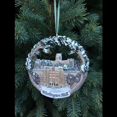 Washington Hall/Cadet Chapel Christmas Ornament (Hestia Creations)