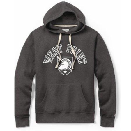 League West Point Gray Stadium Hood Sweatshirt