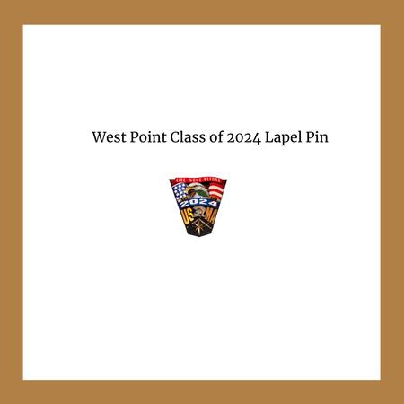 USMA 2024 Crest  Lapel Pin