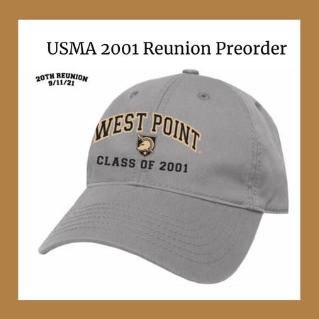 League Preorder: West Point Class of 2001 Reunion Baseball Cap