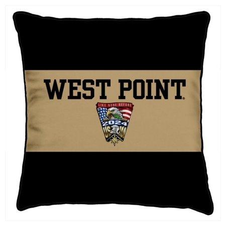 League West Point Class of 2024 Crest Spirit Pillow