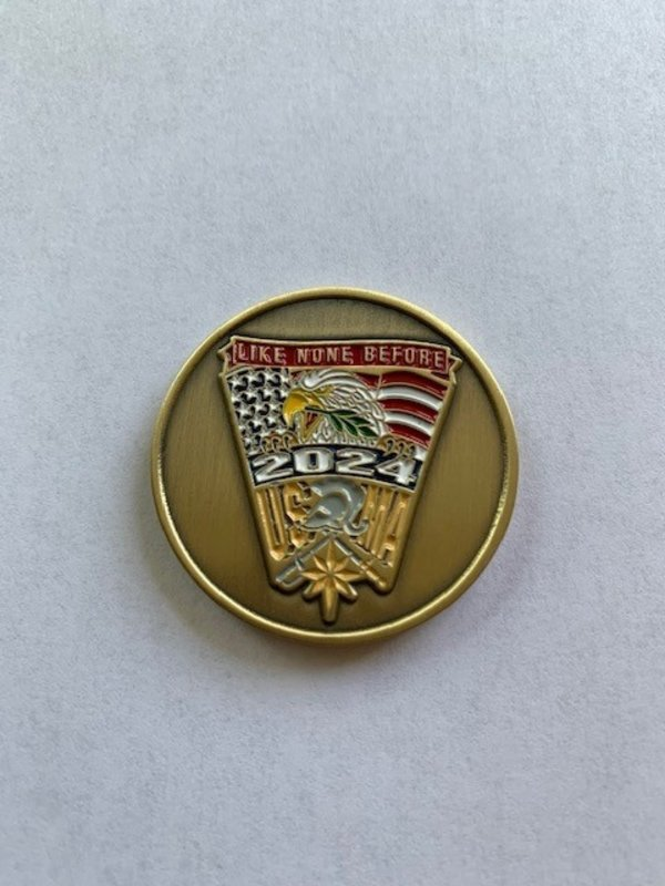 West Point Class of 2024 Crest Coin