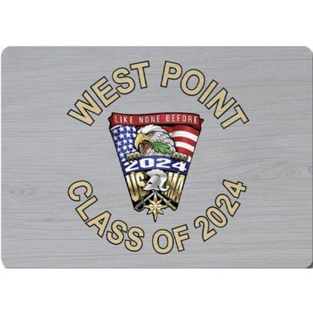 League West Point  Class of 2024 Crest  Magnet