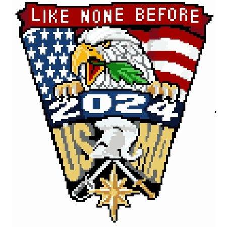 West Point Class 0f 2024 Crest Cross Stitch Kit