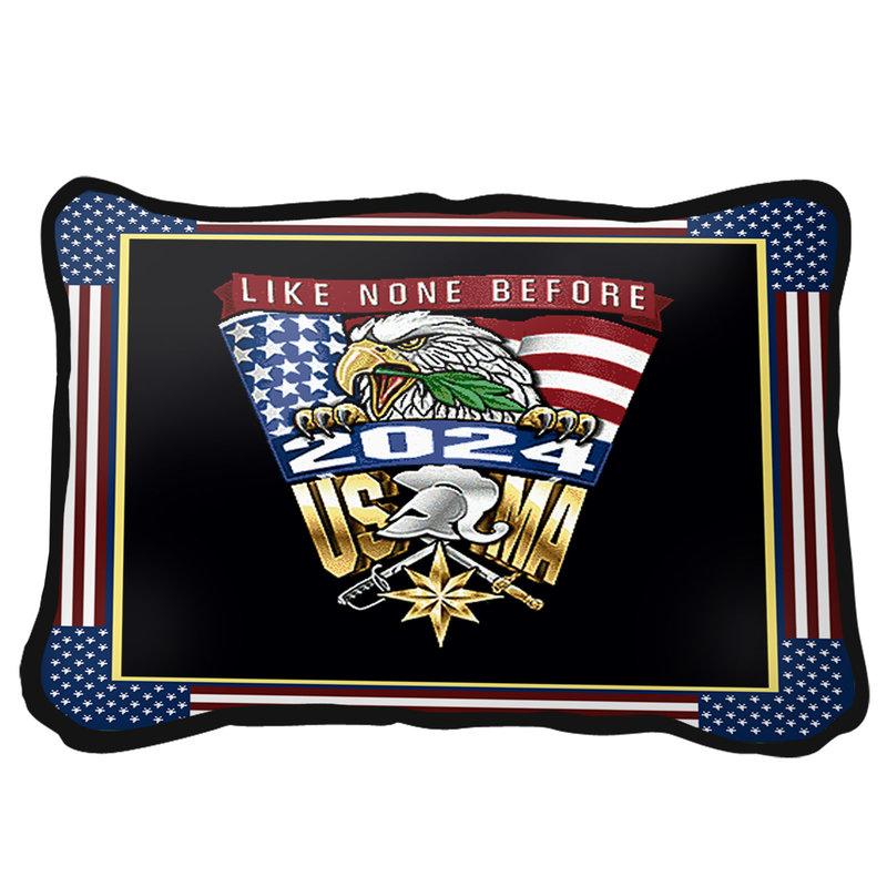 West Point Class of 2024 Crest Pillow