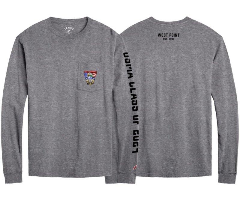 League USMA 2024 Class Crest Long Sleeve Tee