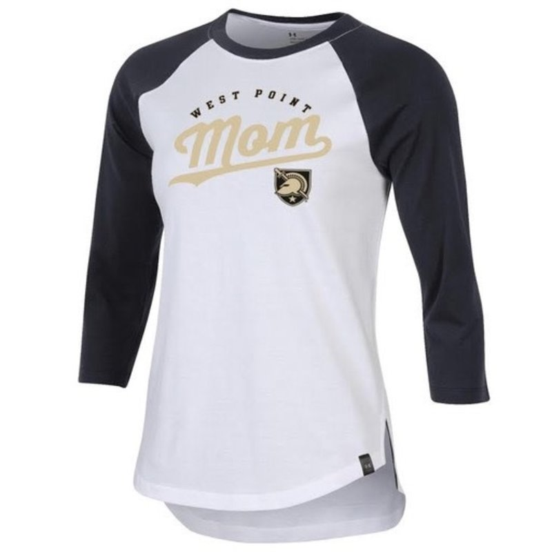 Under Armour Performance Cotton Baseball Tee (West Point Mom)