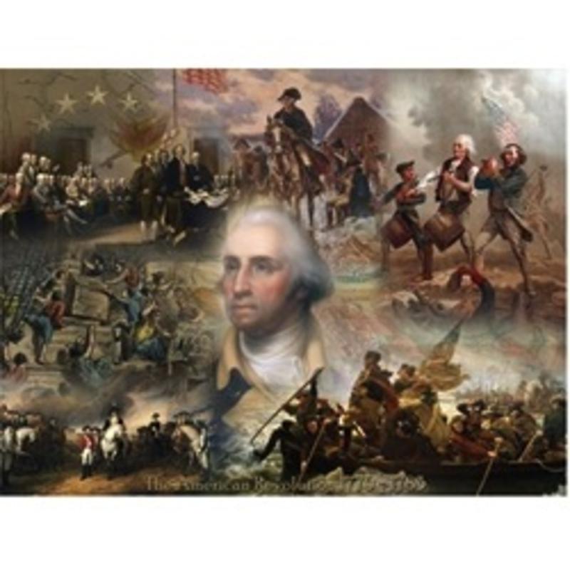 Revolutionary Collage Puzzle