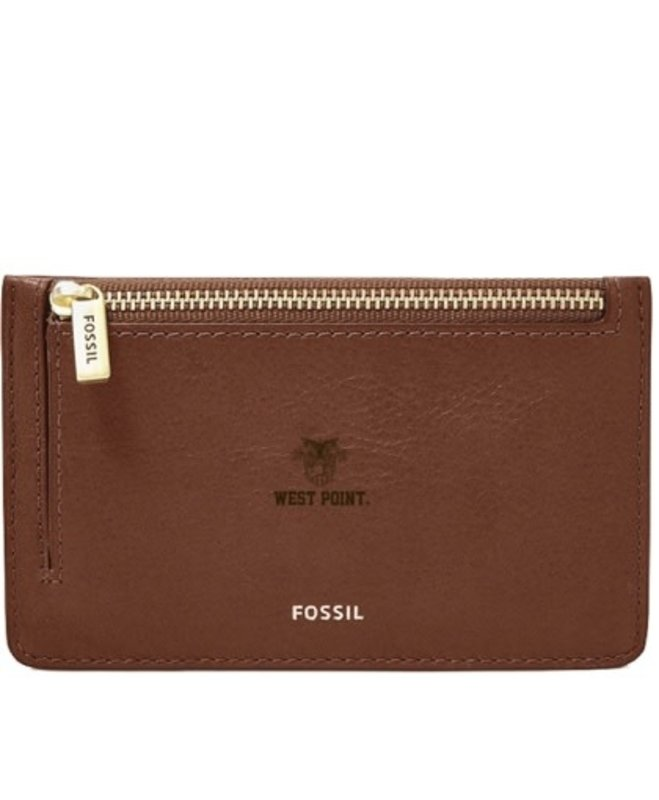 Fossil West Point Card Case Wallet, Brown