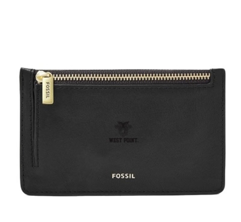 Fossil West Point Card Case, Black