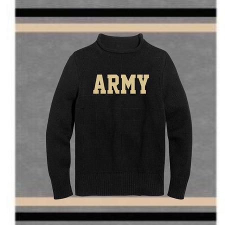 Hillflint Army Roll Neck Sweater