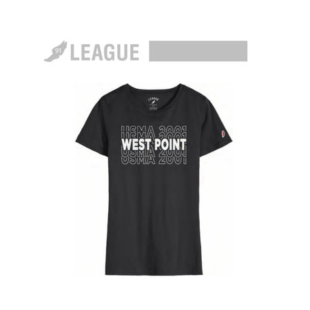 League USMA 2001 Reunion: Women's West Point 2001 Tee