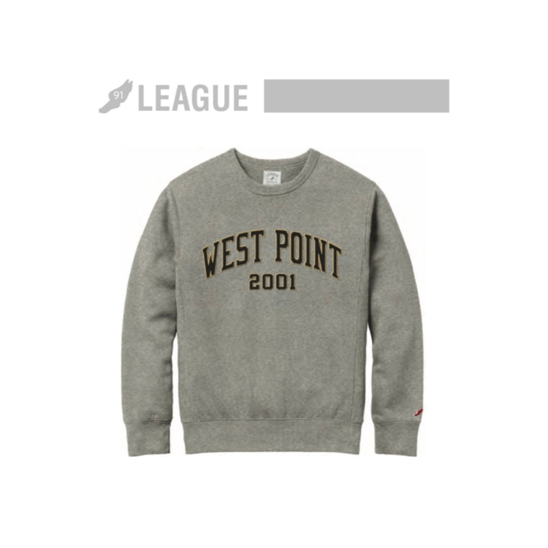 League West Point Class of 2001 Classic Crewneck Sweatshirt
