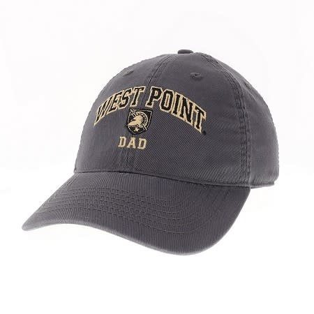 """West Point """"Dad"""" Baseball Cap with Shield, Black"""