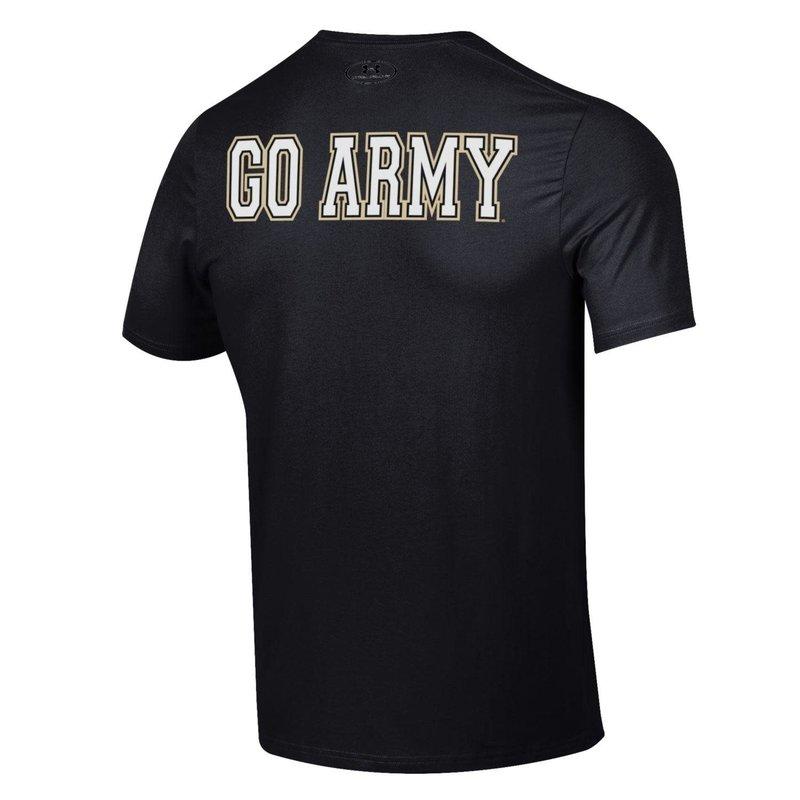 "Under Armour ""Beat Navy"" Performance Cotton Short Sleeve Tee"