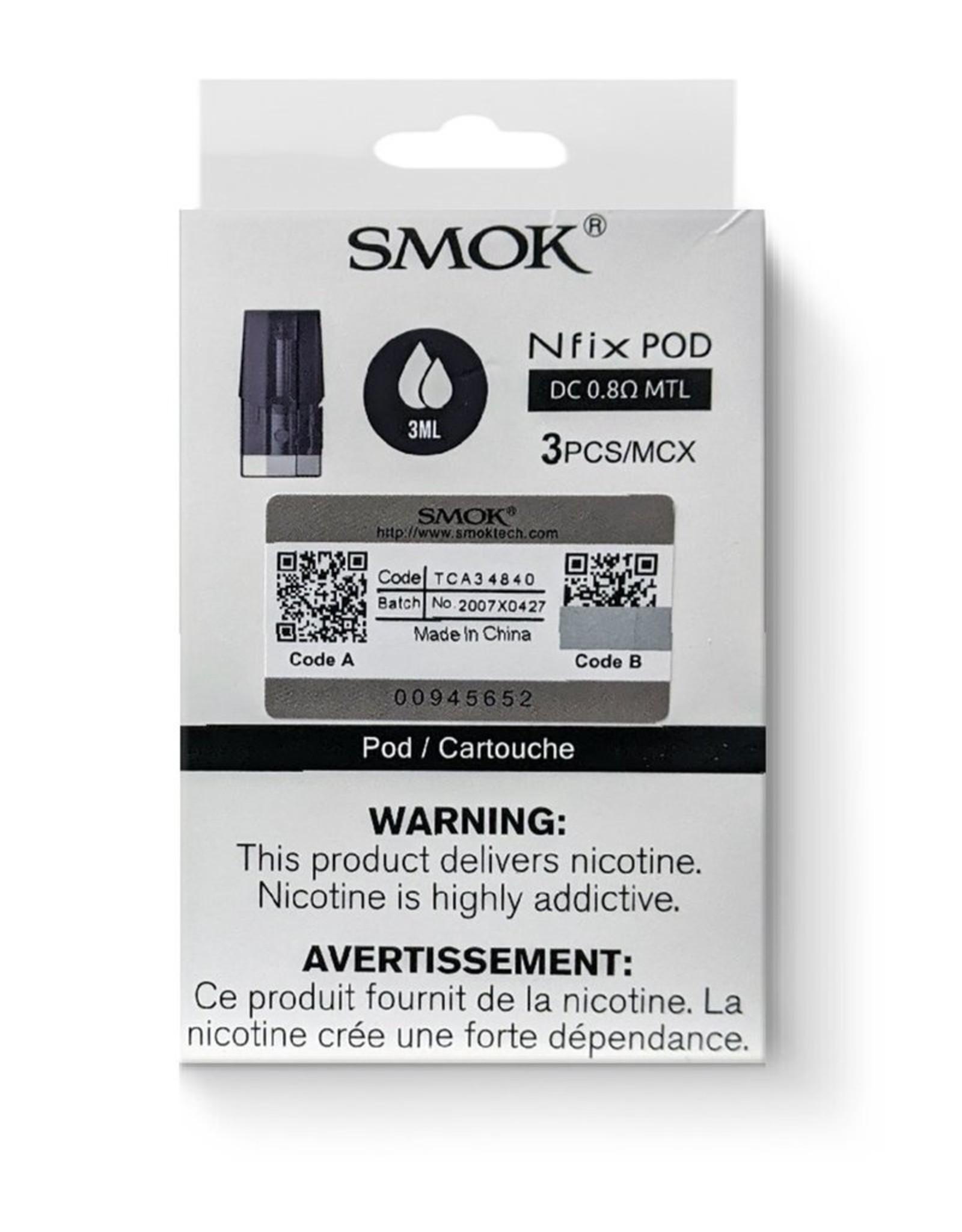 SMOK SMOK NFIX REPLACEMENT POD (3 PACK)