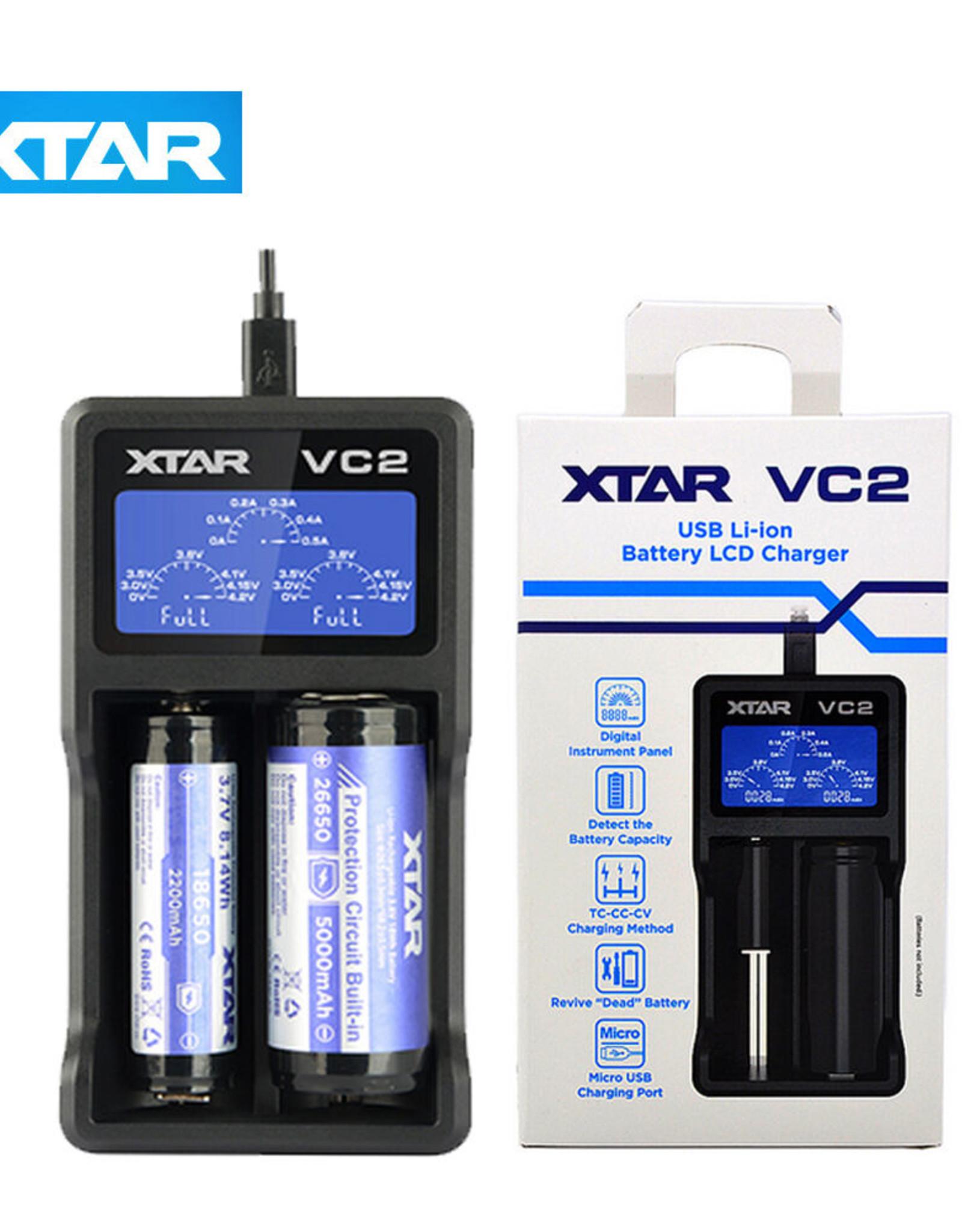 XTAR XTAR VC2 USB CHARGER