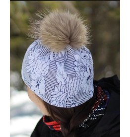 EDDESIGN TUQUE TROPICAL BLANCHE