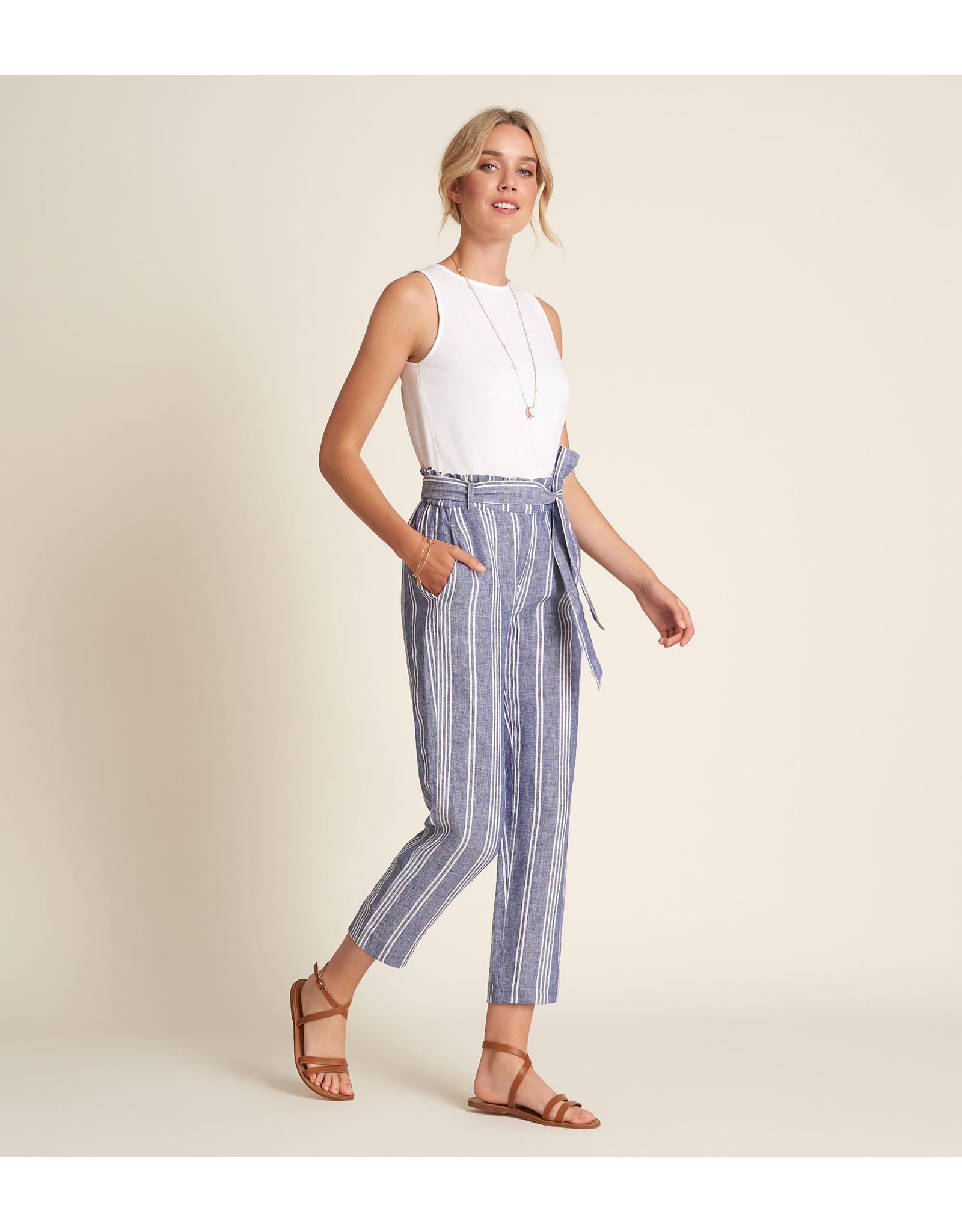 HATLEY S21SSL1473 Pantalon à taille froncée