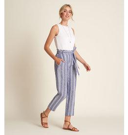 HATLEY Pantalon à taille froncée
