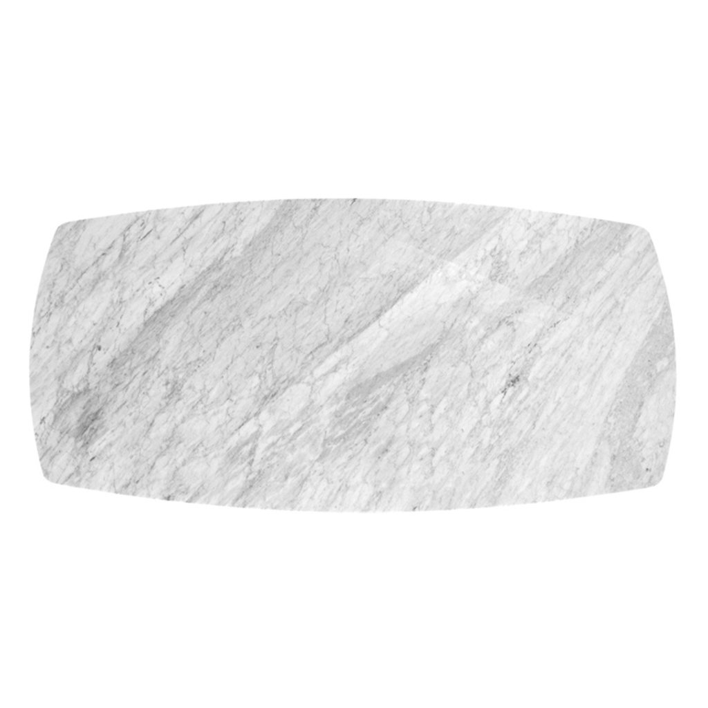 """REUBEN MARBLE DINING TABLE 83"""""""