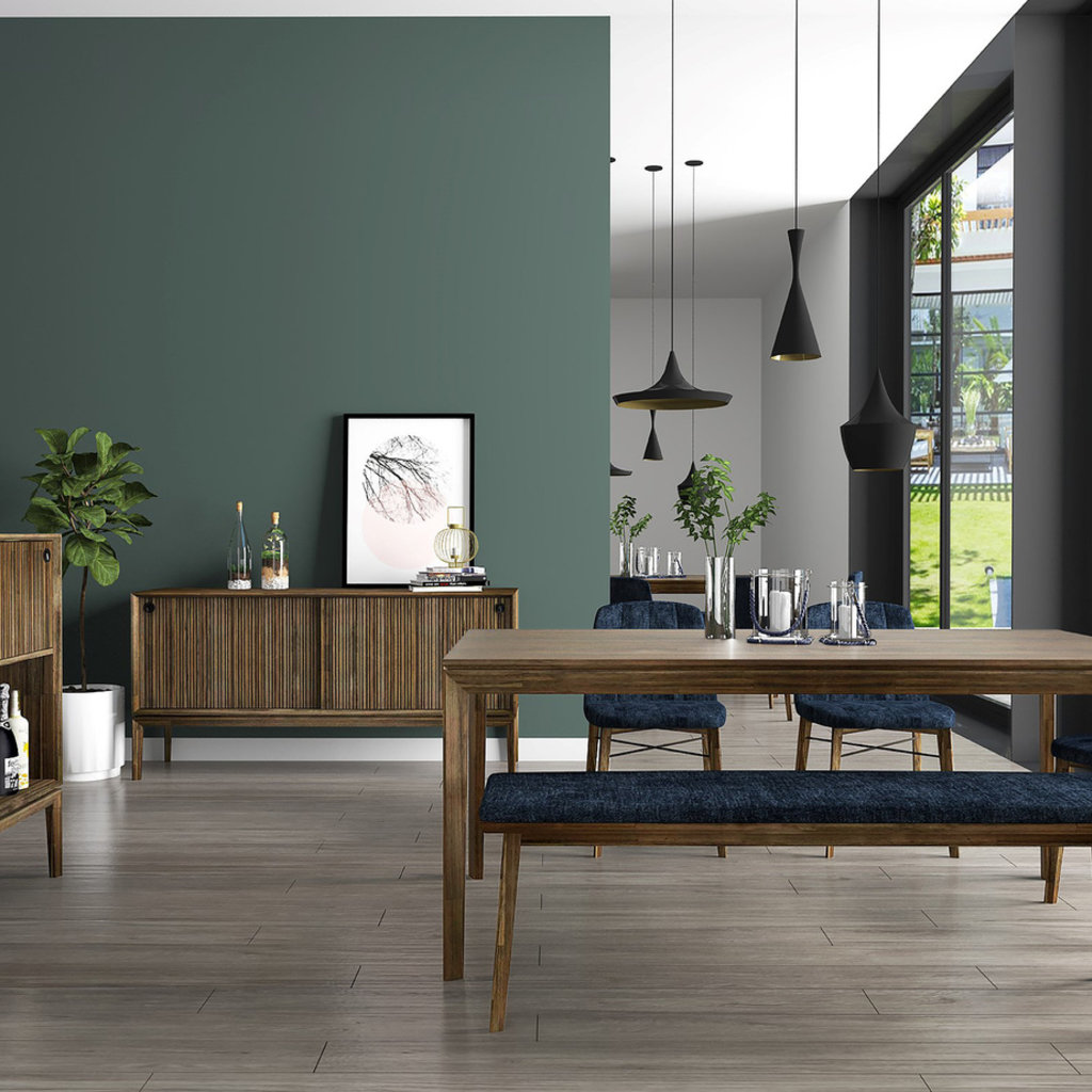 """CLINTON EXTENSION DINING TABLE 71"""" TO 91"""""""
