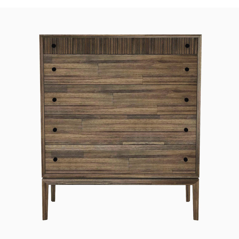 CLINTON 5 DRAWER CHEST