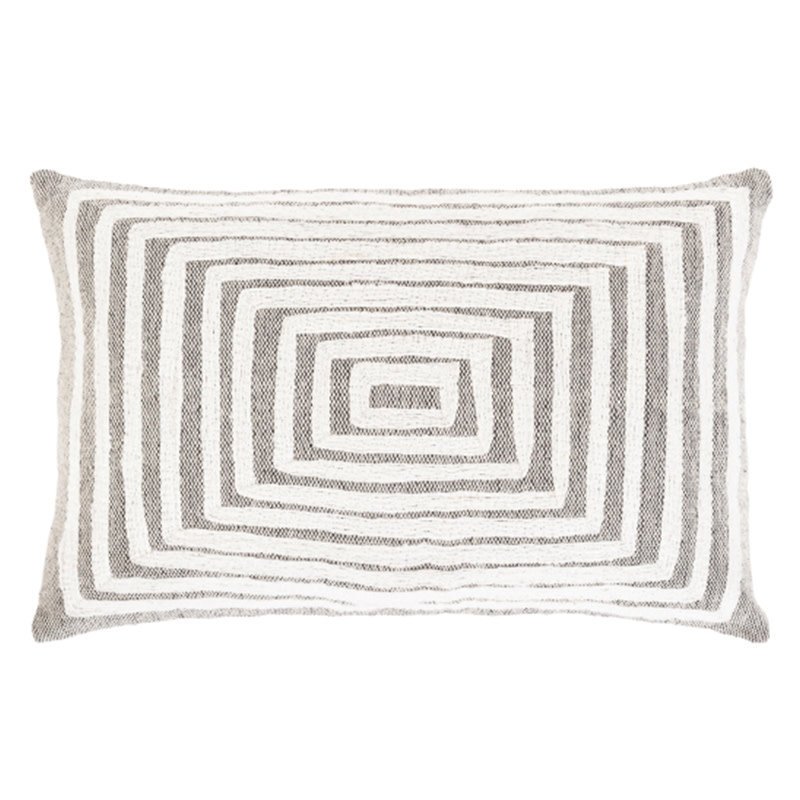 """IZIE PILLOW DOWN FILLED 22X14"""" GREY"""
