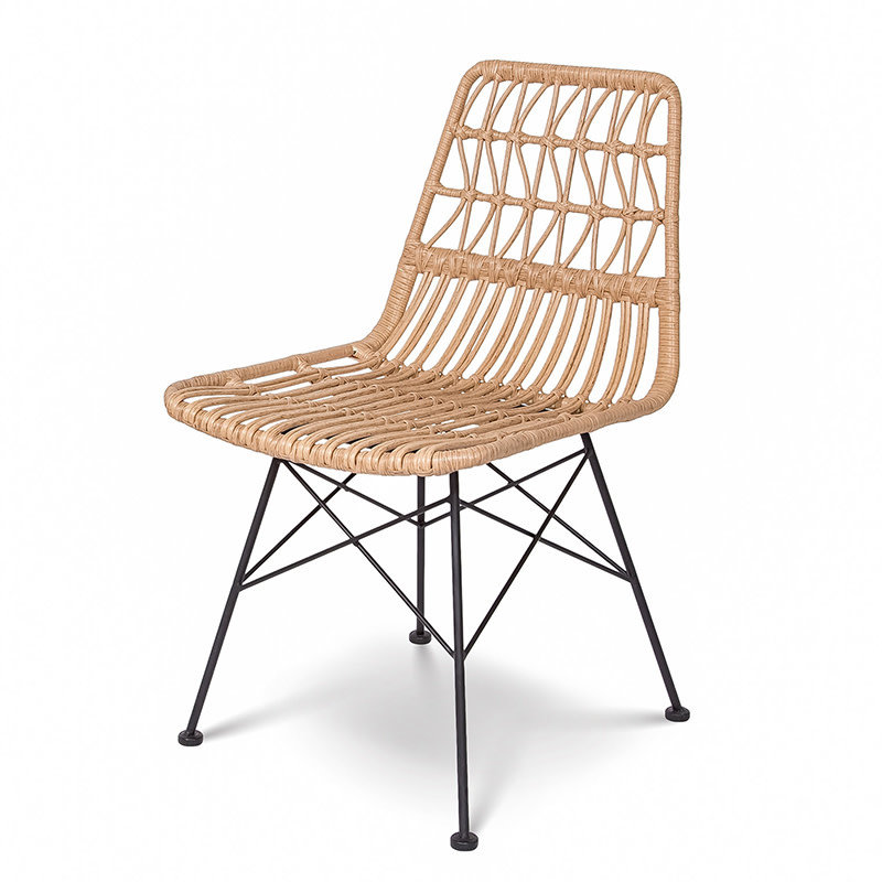 OCEAN DINING CHAIR NATURAL [OUTDOOR SAFE]