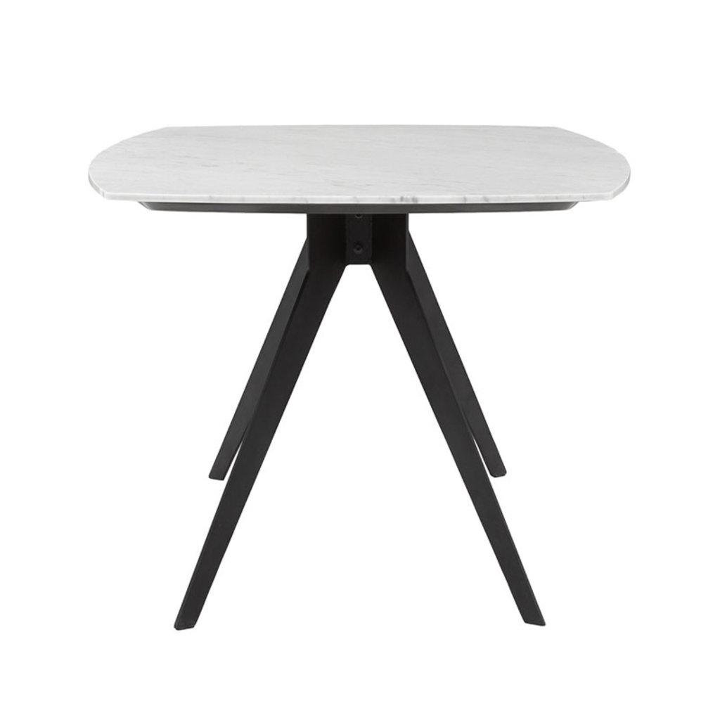 """ALFIE MARBLE DINING TABLE 71"""""""