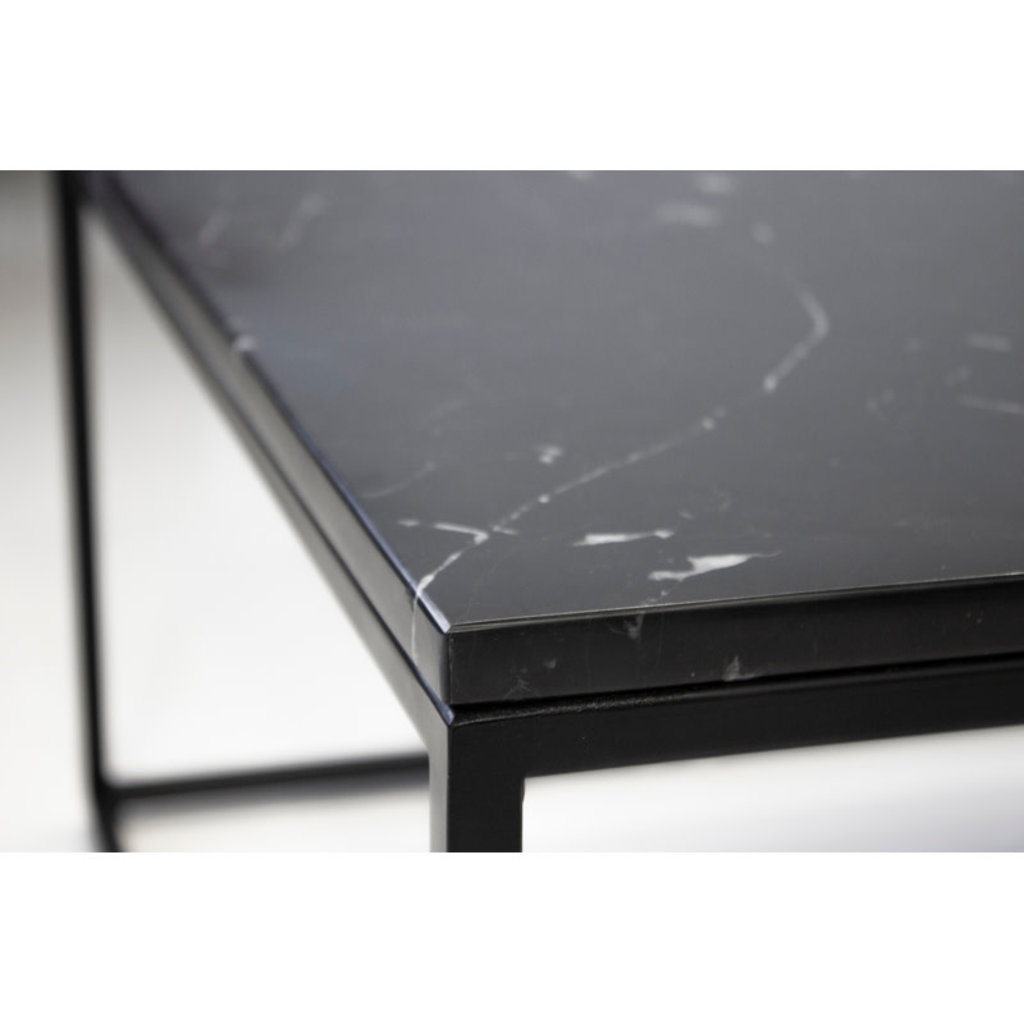 AXEL COFFEE TABLE RECTANGLE MARBLE BLACK