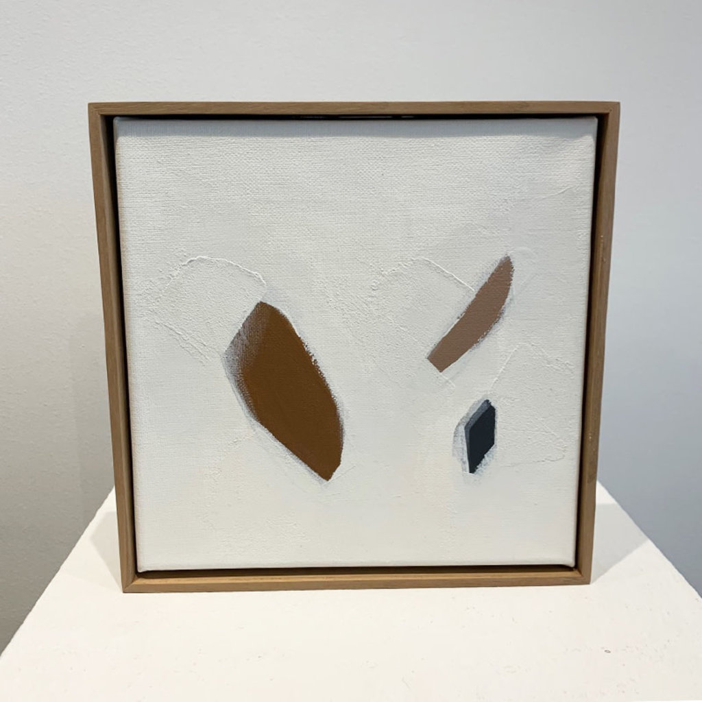 """CHELSEY HORNSBY ORIGINAL 8"""" """"AGGREGATE"""" CANVAS AND BIRCH"""