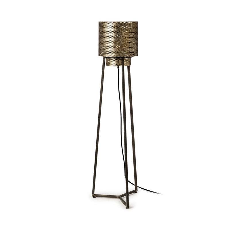 TEO FLOOR LAMP METAL BRONZE