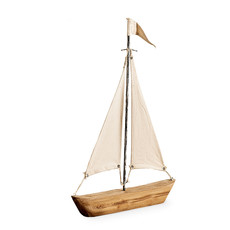 THE SS PORTSIDE SAIL BOAT