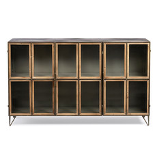 TIMBER LOW CABINET