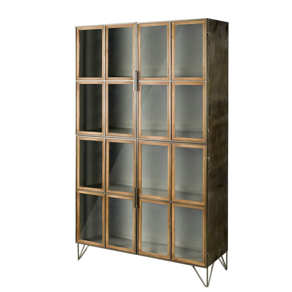 TIMBER TALL CABINET