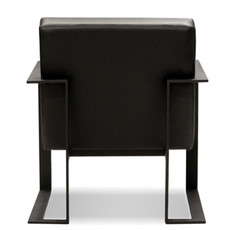 ANDERS CHAIR LEATHER BLACK