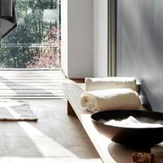 Big Waffle Towel and Blanket Dark Grey