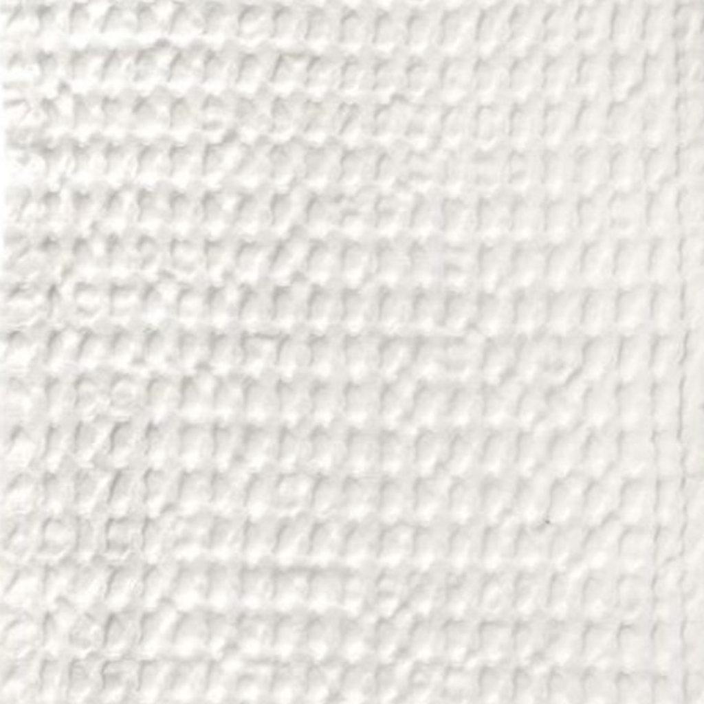 Big Waffle Towel and Blanket White