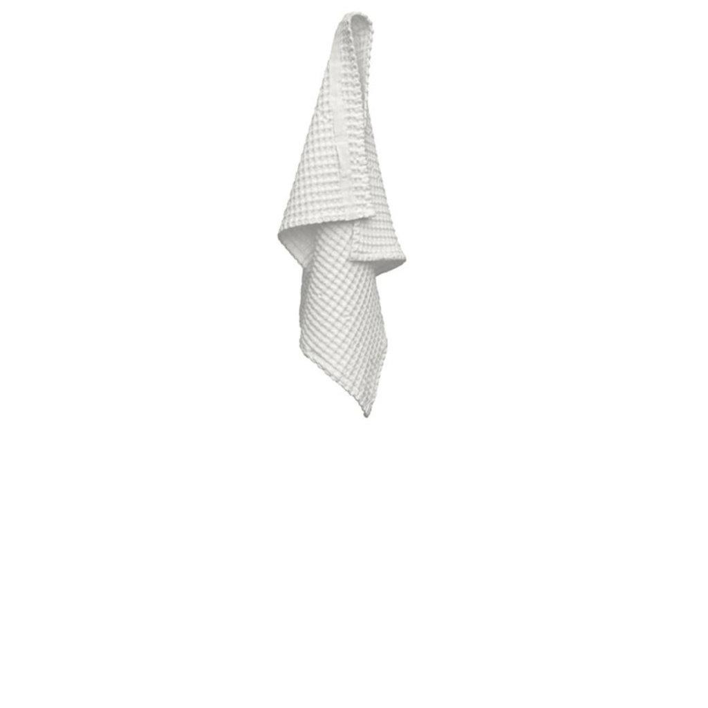 Big Waffle Hand Towel Natural White