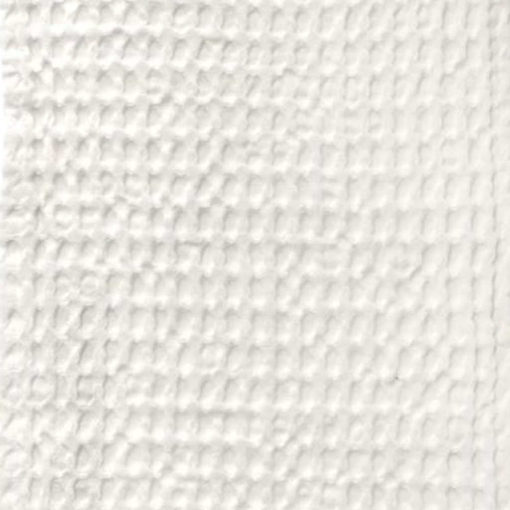 Big Waffle Kitchen and Wash Cloth White