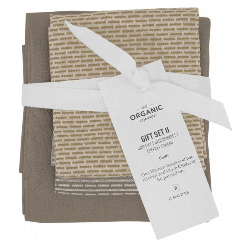 Gift Set Kitchen Towel Earth Selection