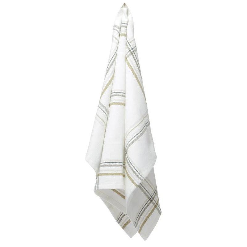 Kitchen Towel Herringbone Earth