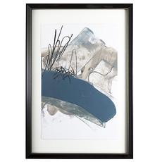 BLUE & GREY SWIPE III